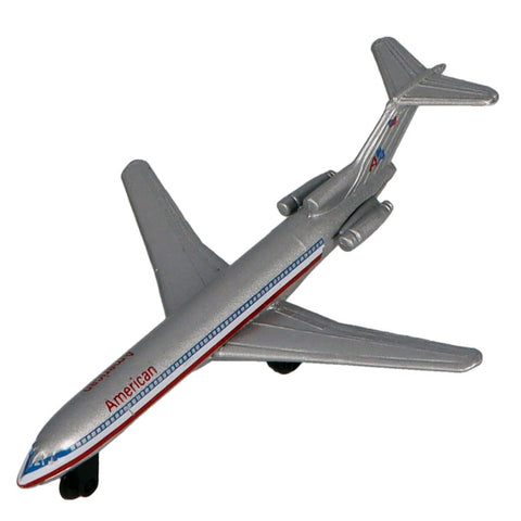 Die Cast Planes - Hot Wings American Airlines Boeing 727 Die Cast Aircraft With Connectible Runway