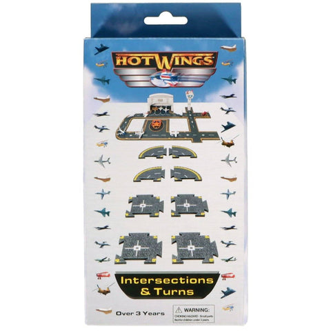Die Cast Planes - Hot Wings Intersection & Turns Accessory