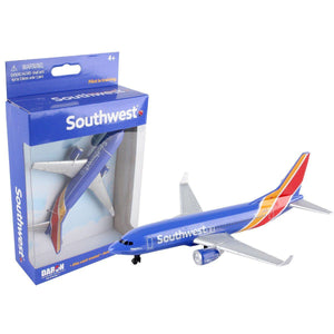 Die Cast Planes - Southwest Airlines Single Die-cast Plane (New Livery)