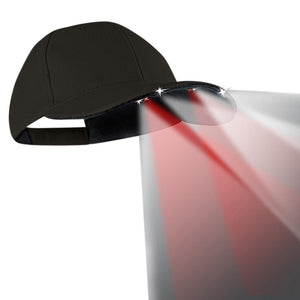 Flashlights - Powercap Navigator With Red And White LEDs