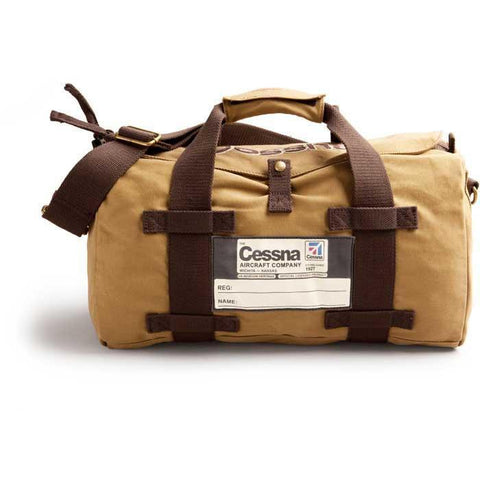 Flight Bags - Red Canoe Cessna Vintage Stow Bag