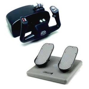 Flight Simulation - CH Products Flight Sim Yoke And Pedals Beginner Bundle