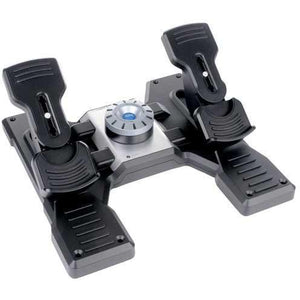 Flight Simulation - Logitech Saitek Pro Flight Rudder Pedals