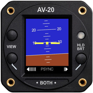 GPS Receivers - UAvionix AV-20-S Multi-Function Display