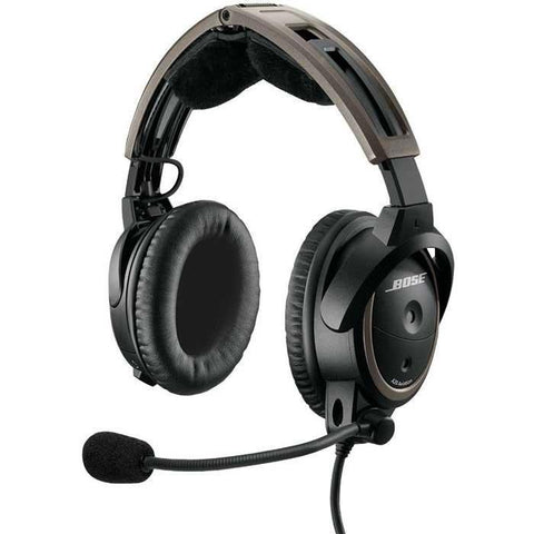 Headsets - Bose A20 Aviation Headset With Bluetooth (Battery Powered Twin Plugs)