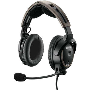 Headsets - Bose A20 Aviation Headset WITHOUT Bluetooth Battery Powered Twin Plugs