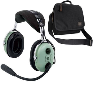 Headsets - David Clark H10-13S Stereo Headset & Headset Bag Combo