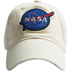 Headwear - Red Canoe NASA Ball Cap White