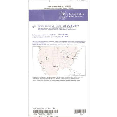 Helicopter Route Charts - FAA Chicago Helicopter Route Chart - Expires February 25, 2021