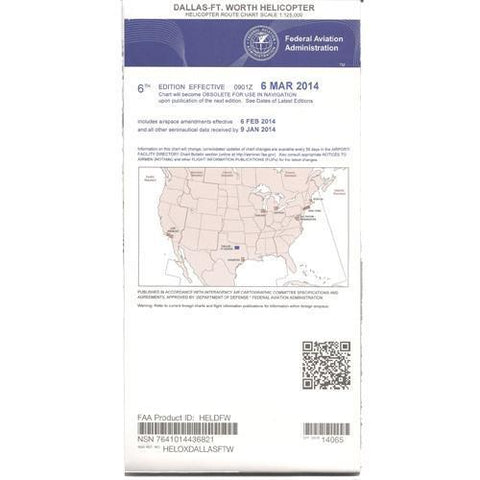 Helicopter Route Charts - FAA Dallas-Ft. Worth Helicopter Route Chart - Expires February 25, 2021
