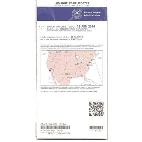 Helicopter Route Charts - FAA Los Angeles Helicopter Route Chart - Expires November 5, 2020