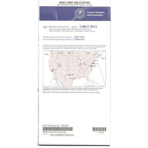 Helicopter Route Charts - FAA New York Helicopter Route Chart - Expires November 5, 2020