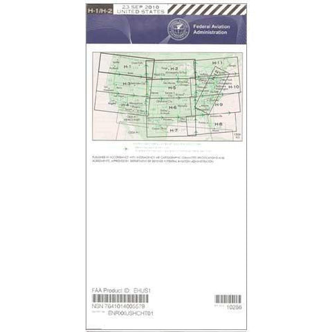 IFR Enroute High Altitude Charts - FAA Enroute High US H1/2 - 11-05-20 - 12-31-20