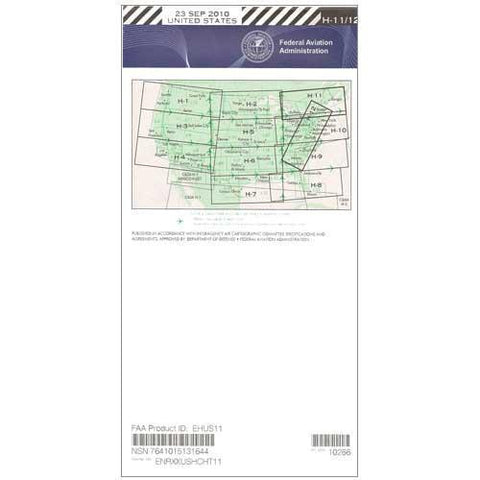 IFR Enroute High Altitude Charts - FAA Enroute High US H11/12 - 11-05-20 - 12-31-20