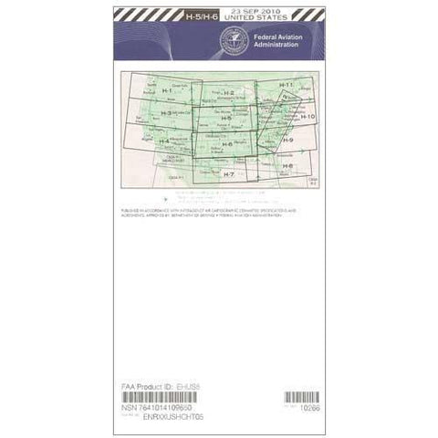 IFR Enroute High Altitude Charts - FAA Enroute High US H5/6 - 11-05-20 - 12-31-20