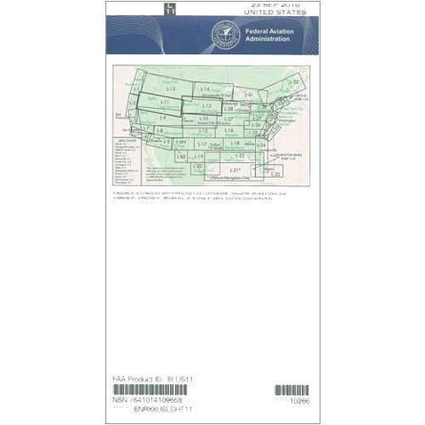IFR Enroute Low Altitude Charts - FAA Enroute Low US L11/12 - 11-05-20 - 12-31-20
