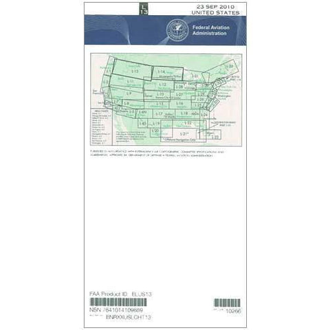 IFR Enroute Low Altitude Charts - FAA Enroute Low US L13/14 - 11-05-20 - 12-31-20