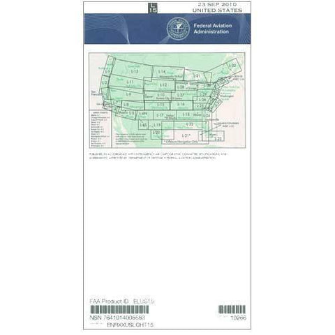 IFR Enroute Low Altitude Charts - FAA Enroute Low US L15/16 - 11-05-20 - 12-31-20