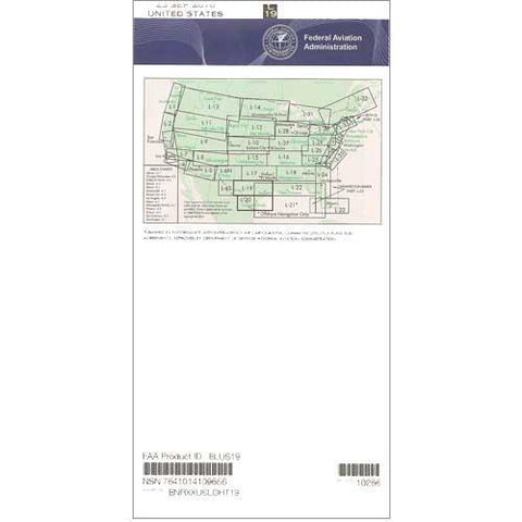 IFR Enroute Low Altitude Charts - FAA Enroute Low US L19/20 - 11-05-20 - 12-31-20