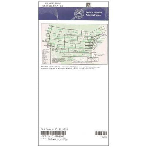 IFR Enroute Low Altitude Charts - FAA Enroute Low US L25/26 - 11-05-20 - 12-31-20