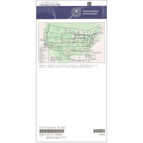 IFR Enroute Low Altitude Charts - FAA Enroute Low US L27/28 - 11-05-20 - 12-31-20