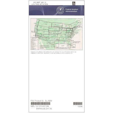 IFR Enroute Low Altitude Charts - FAA Enroute Low US L29/30 - 11-05-20 - 12-31-20