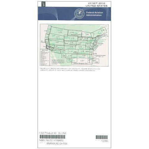 IFR Enroute Low Altitude Charts - FAA Enroute Low US L3/4 - 11-05-20 - 12-31-20