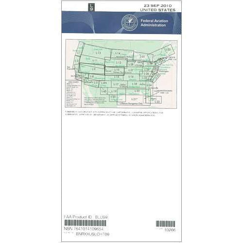 IFR Enroute Low Altitude Charts - FAA Enroute Low US L9/10 - 11-05-20 - 12-31-20