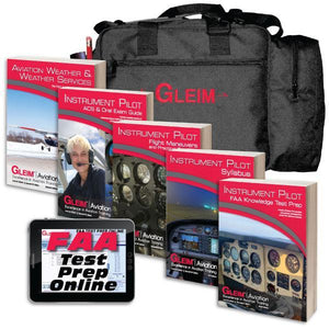 Instrument Rating - Gleim 2021 Instrument Kit With Online Test Prep