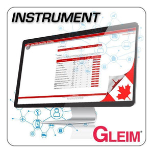Instrument Rating - Gleim Online Ground School For Instrument