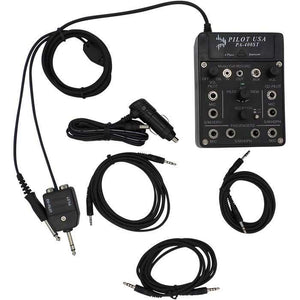 Intercoms - Pilot USA 4-Place Portable Stereo Intercom