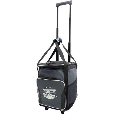 Kitchen & Barware - Flying Is Freedom Koozie Tailgate Rolling Cooler