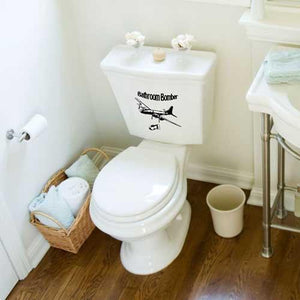 Kitchen & Barware - The Bathroom Bomber Novelty Toilet Bowl Sticker Set