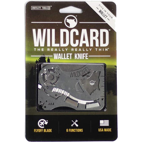 Knives & Multi Tools - Zootility Wildcard