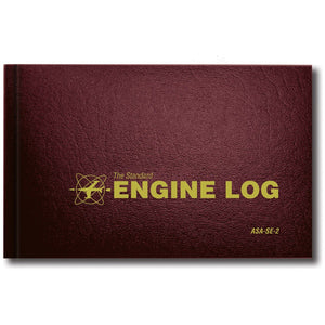Logbooks - ASA Engine Log Hardcover