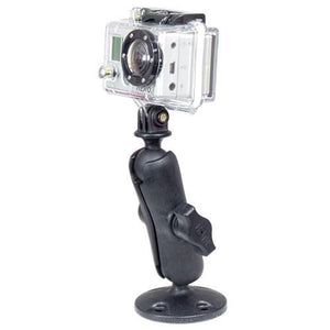 Mounts - RAM GoPro Hero Adapter With Flat Surface Mount Kit