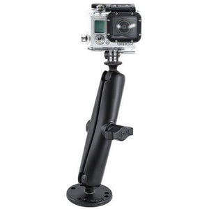 Mounts - RAM GoPro Hero Adapter With Long Arm And Flat Surface Mount Kit