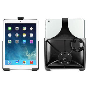 "Mounts - RAM IPad Air 1-2 Cradle With 1"" Ball"