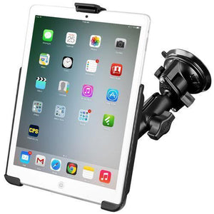 Mounts - RAM IPad Mini 1-3 Cradle With Suction Cup Mount Kit