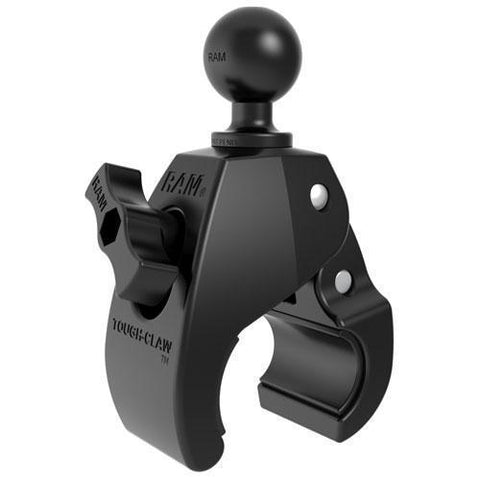 """Mounts - RAM Small Tough-Claw With 1"""" Diameter Rubber Ball"""