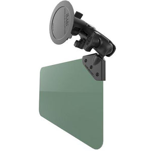 Mounts - RAM Suction Cup Mount With Green Sun Visor: 50% Tint Kit
