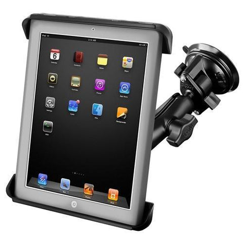 """Mounts - RAM Tab-Tite Universal Cradle For 10"""" Tablets Suction Cup Mount Kit"""