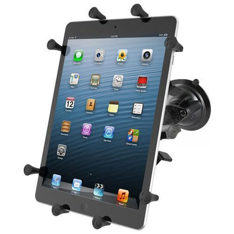 """Mounts - RAM Universal X-Grip Cradle For 10"""" Tablets With Suction Cup Mount Kit"""