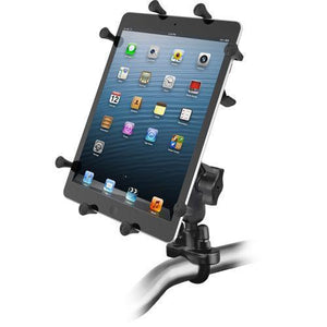 "Mounts - RAM Universal X-Grip Cradle For 10"" Tablets With U-Bolt Rail Mount Kit"