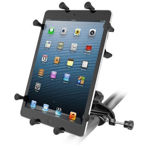 """Mounts - RAM Universal X-Grip Cradle For 10"""" Tablets With Yoke Clamp Mount Kit"""