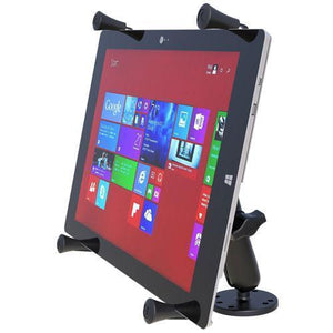 "Mounts - RAM Universal X-Grip Cradle For 12"" Tablets Flat Surface Mount Kit"