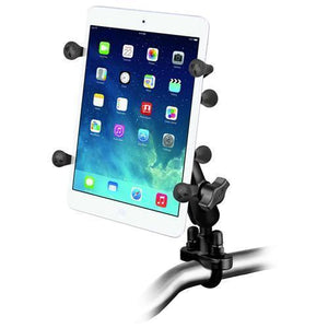 "Mounts - RAM Universal X-Grip Cradle For 7"" Tablets With U-Bolt Rail Mount Kit"