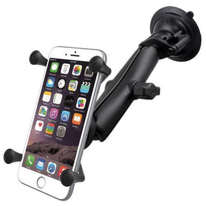 Mounts - RAM Universal X-Grip IV Phone Cradle Long Arm & Suction Cup Mount Kit