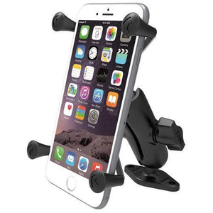 Mounts - RAM Universal X-Grip IV Phone Cradle With Diamond Base Mount Kit