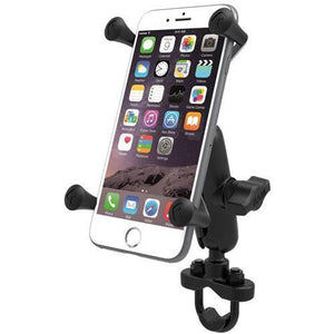Mounts - RAM Universal X-Grip IV Phone Cradle With U-Bolt Rail Mount Kit